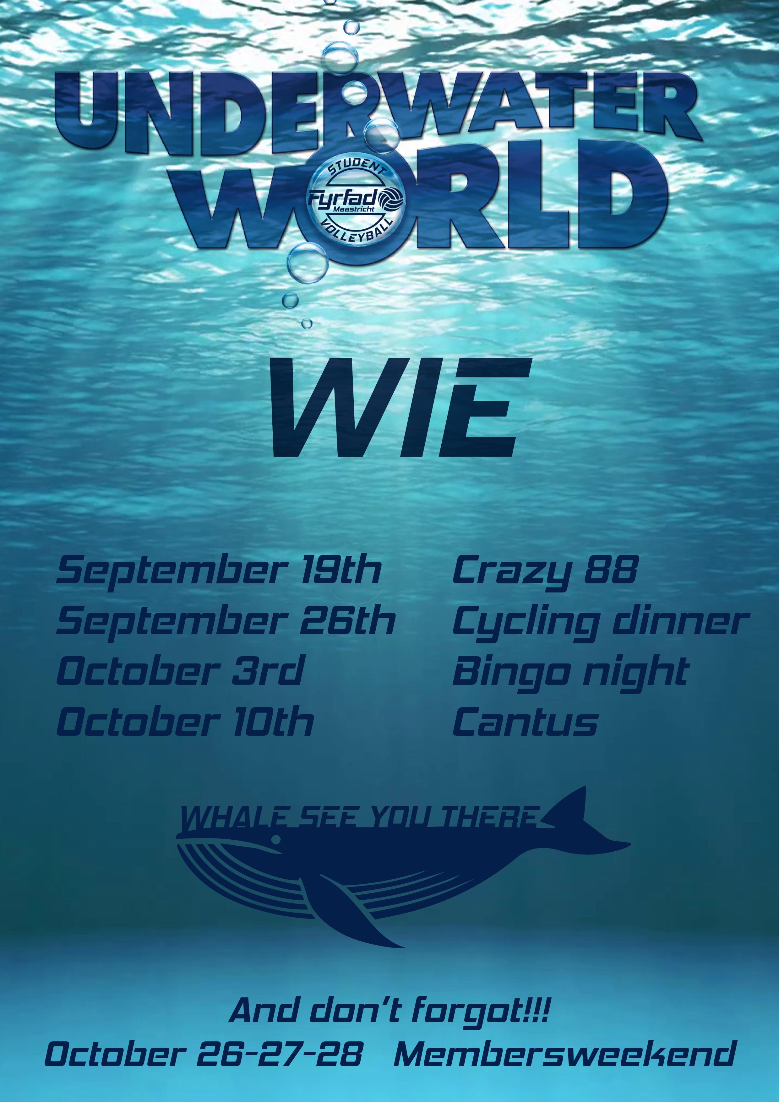 WIE Cantus: Underwater World!